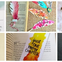 Bookish Crafts- 5 DIY Bookmarks